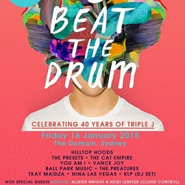 Triple J Beat Drum